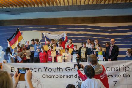 EYGC2017 15 Winners of the team championship