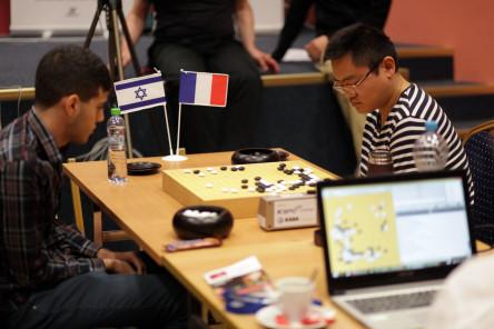 La finale Ali Jabarin - Fan Hui (photo Olivier Dulac)