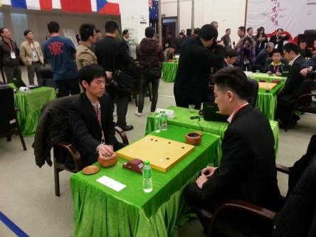Lee Chang Ho vs Kong Jie