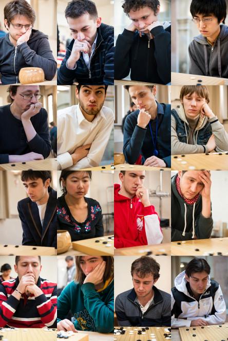 De gauche à droite et de haut en bas : Ondrej Silt 6d, Dusan Mitic 6d, Artem Kachanovskyi 7d, Viktor Lin 6d, Cristian Pop 7d, Lukas Podpera 6d, Bohdan Zhurakowskyi 6d, Ilya Shikshin 7d, Timur Sankin 6d, Zhao Pei 6d, Mateusz Surma 7d, Csaba Mero 6d, Dragos Bajenaru 6d, Andrii Kravets 6d, Thomas Debarre 6d, Cornel Burzo 6d. Photos Marco Billa